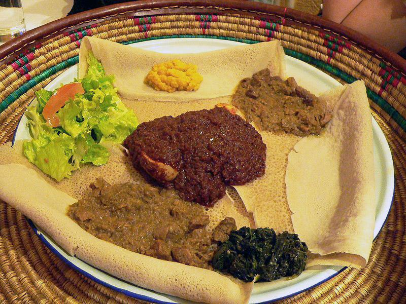 Etiópske jedlo mahaberawi