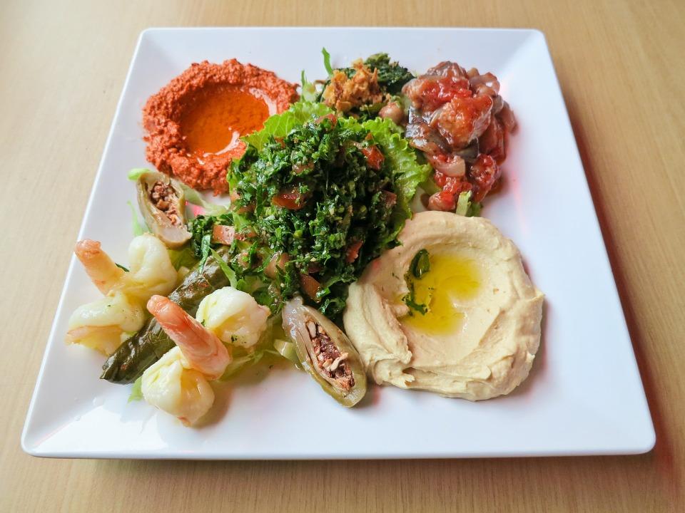 Turecke jedlo meze