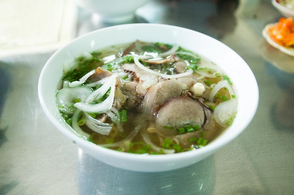 Vietnamská polievka pho bo
