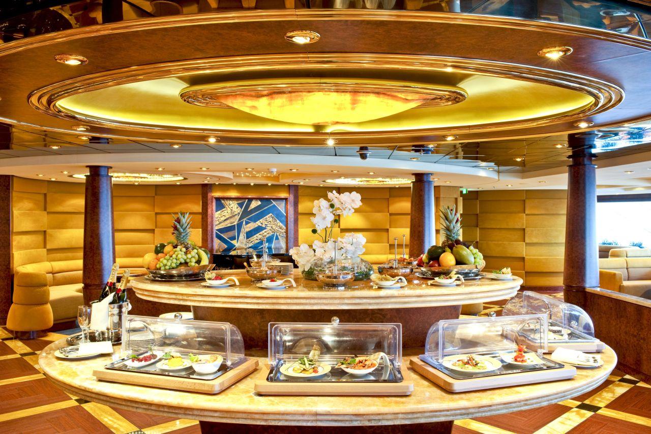 Jedalen na vyletnej lodi msc fantasia