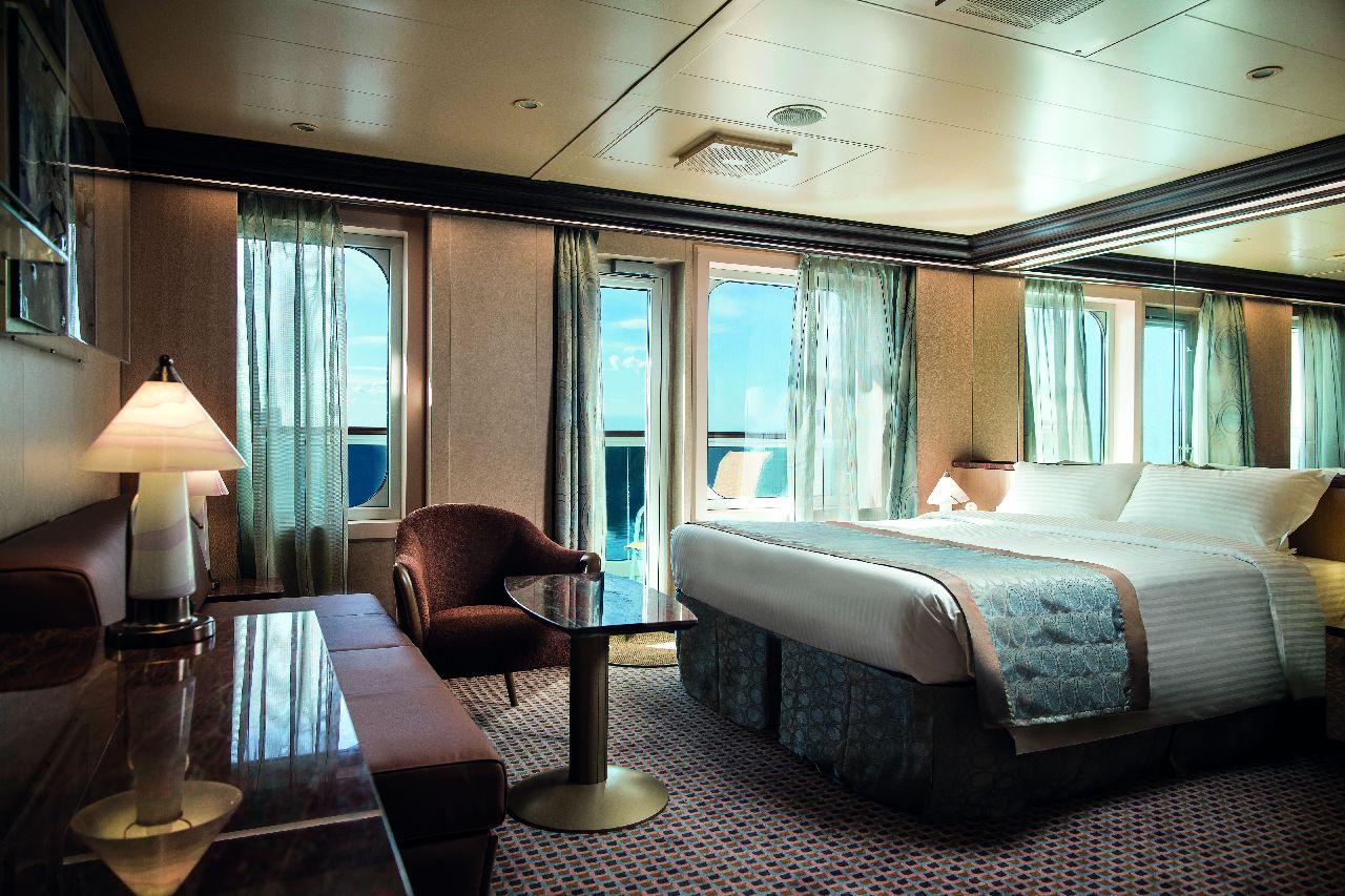 Suita na výletnej lodi costa diadema