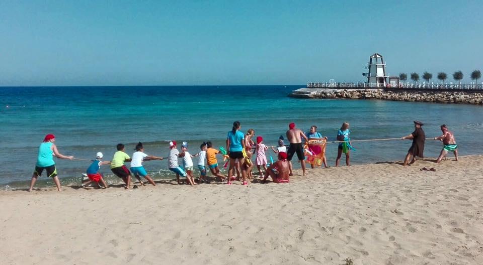 aktivity na plazi noahs arc