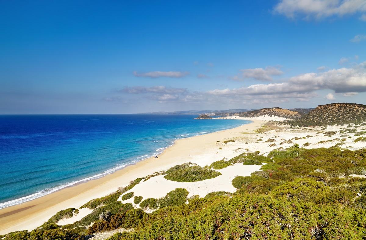 Plaz karpaz na severnom cypre