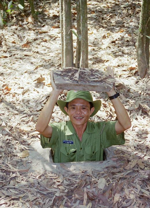 tunel cu chi vo vietname