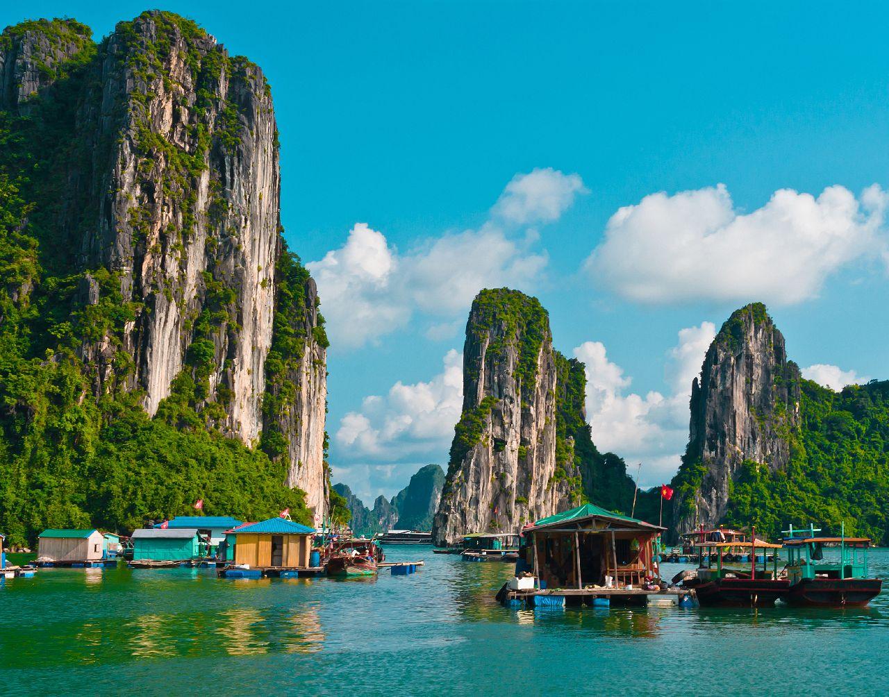 Halong bay vo vietname