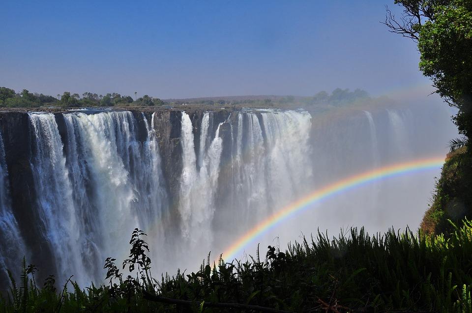 Viktoriine vodopady v zimbabwe