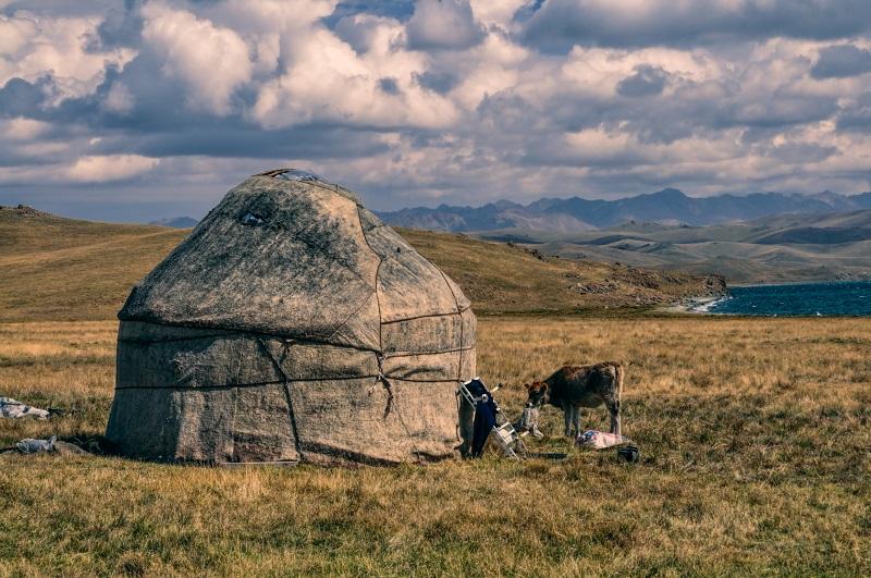 Jurta v kirgizsku
