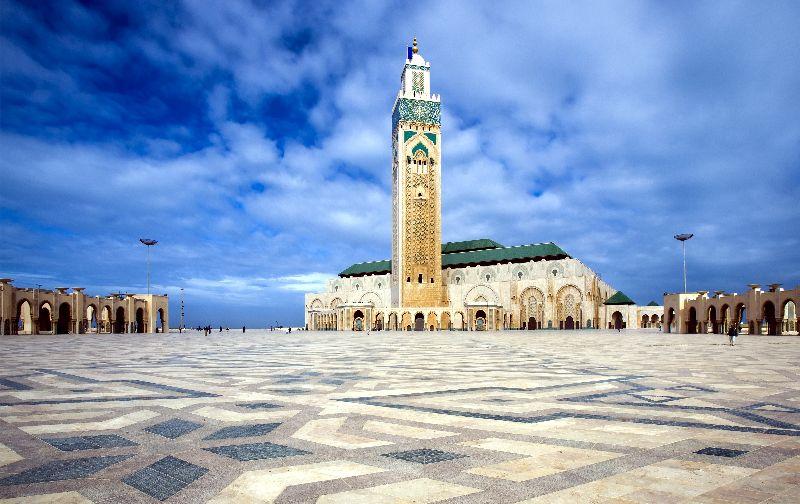 Mesto casablanca v maroku