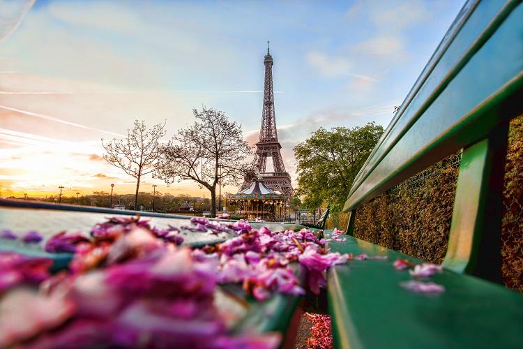 Hlavné mesto francúzska paríž