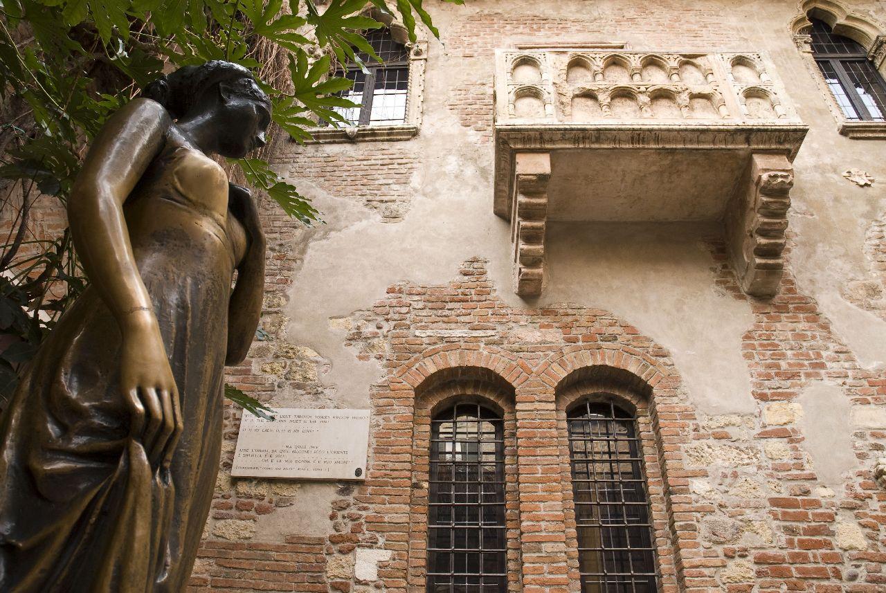 Dom júlie vo talianskej verone