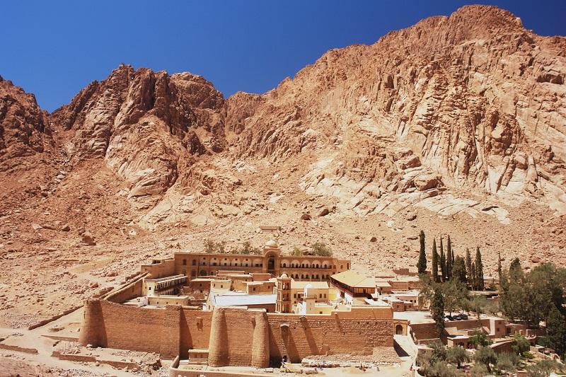 Mojžišova hora na sinajskom polostrove