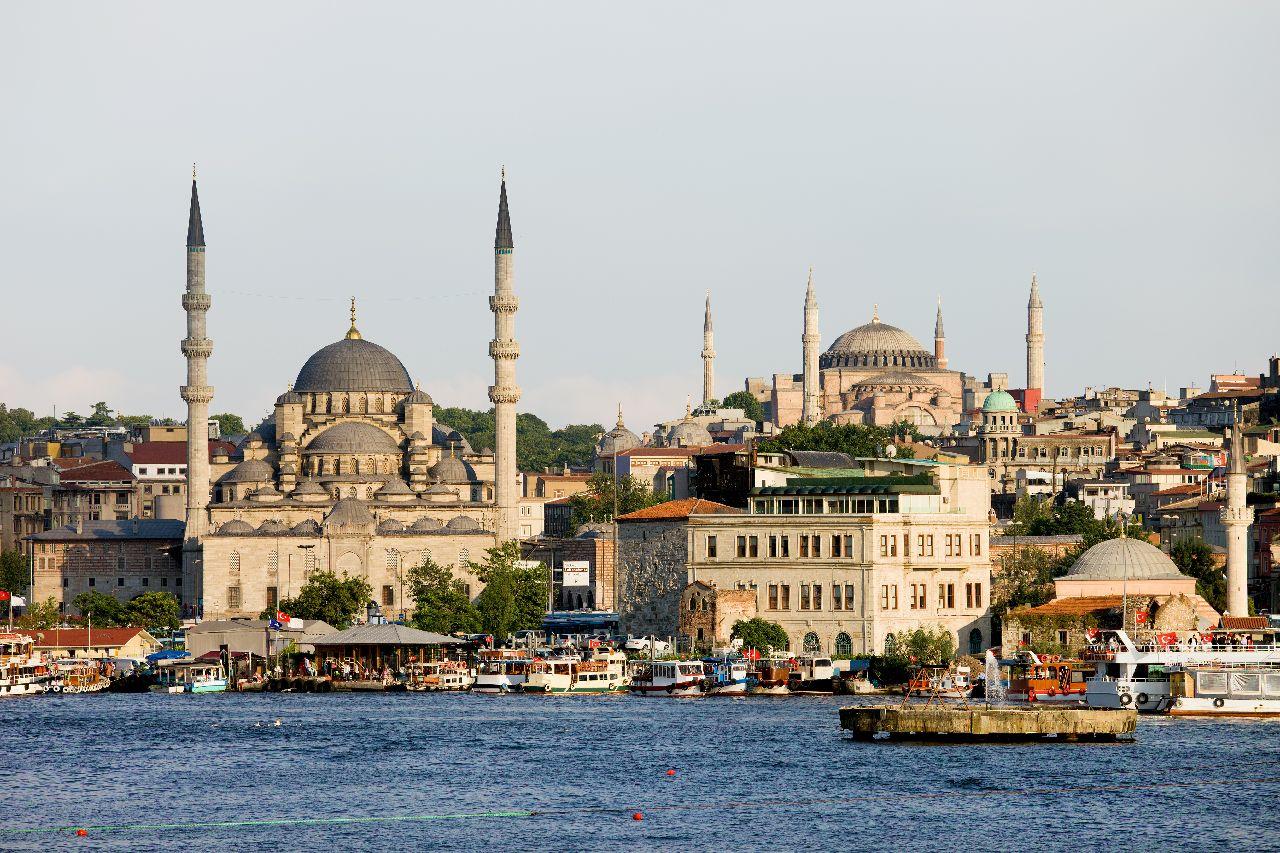 Mešita hagia sofia v istanbule v turecku