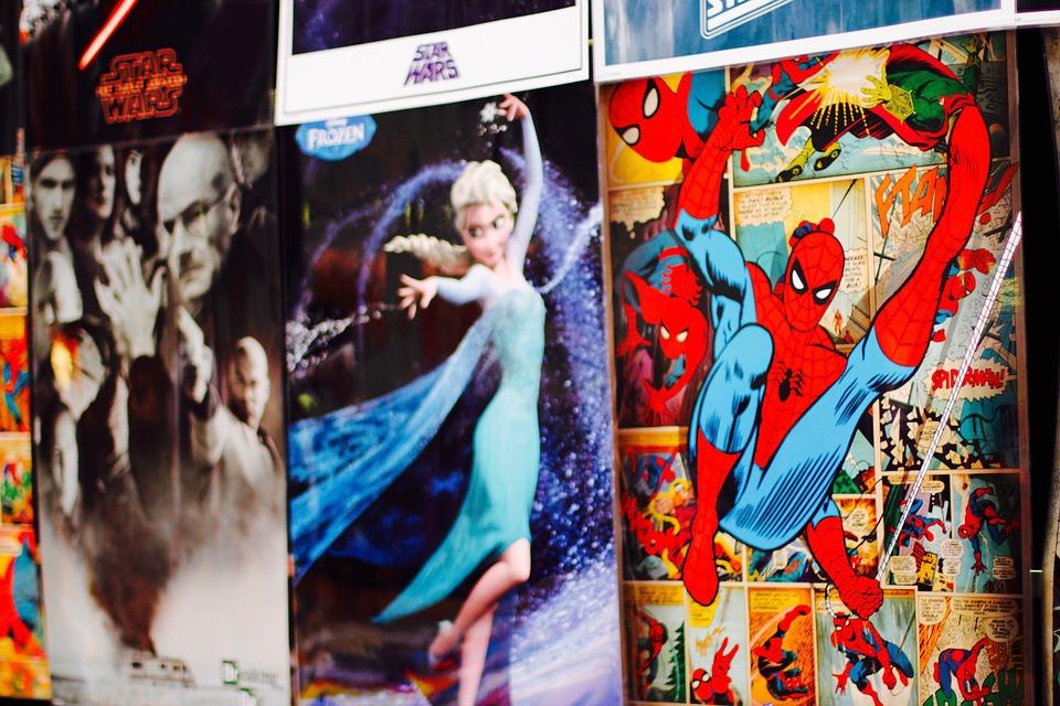 Komiksový hrdina spiderman
