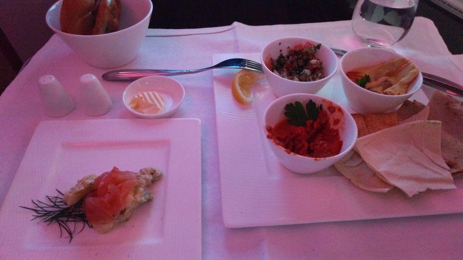 qatar airlines, jedlo, test, aerolinie