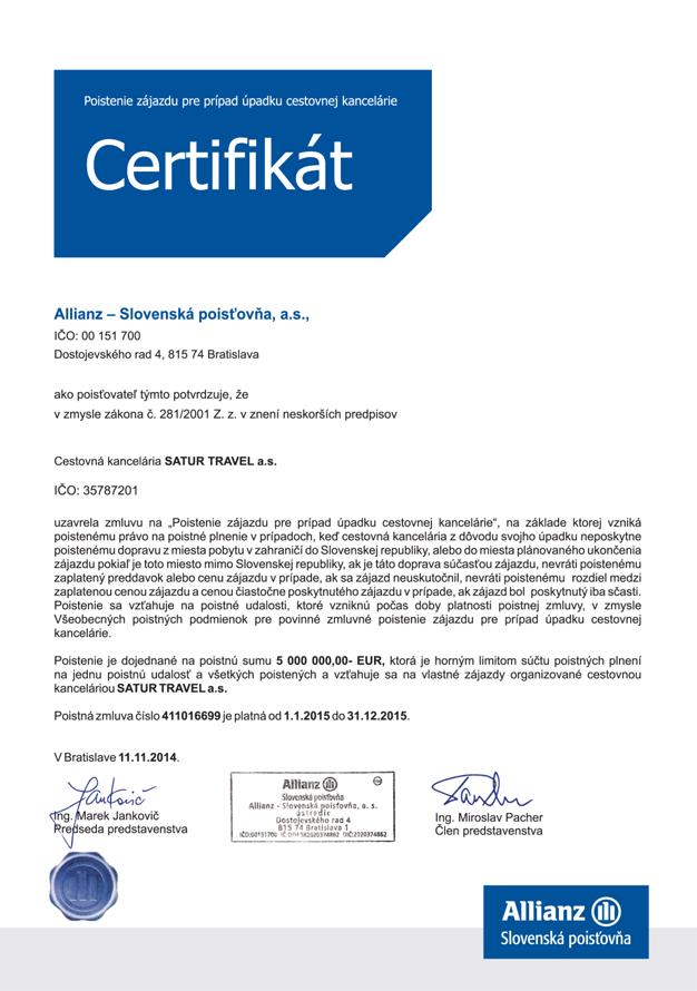 Certifikat_Allianz_2015