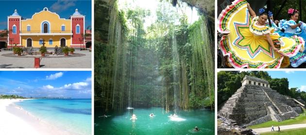 Mexiko - Guatemala - Belize
