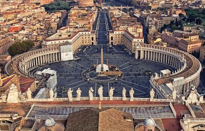 Námestie sv. petra, Vatikán, Rím, poznávací zájazd, Taliansko