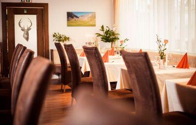 Reštaurácia, hotel Montana, Telfes im Stubaital