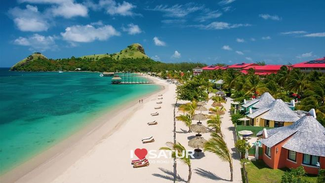 HOTEL SANDALS GRANDE ST.LUCIAN SPA & BEACH RESORT / St. Lucia, Gros Islet
