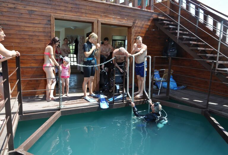 Aquapark, potápanie, Bešeňová, Gino Paradise