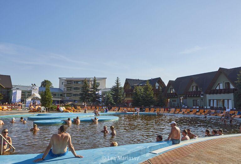 Bazén, Bešeňová, Gino Paradise