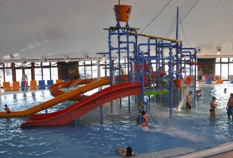 Aquapark, detský hrad, Bešeňová, Gino Paradise