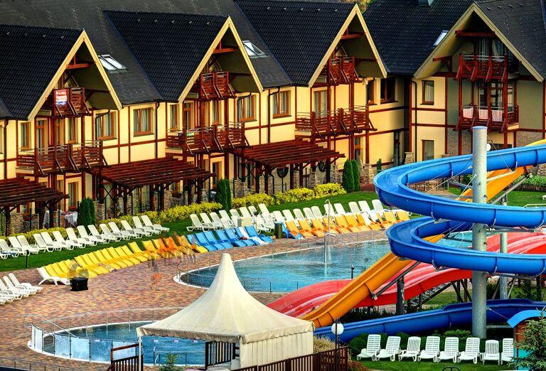 Aquapark, Bešeňová, Gino Paradise, foto Marek Hajkovský