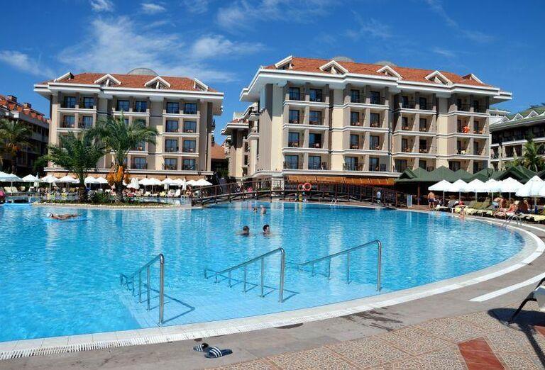 Hotel Sentido Turan Prince, Side, areál